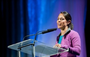iGnite founder Neissa Springmann has come a long way! Here she is speaking at the 2010 Texas Conference for Women.
