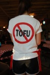 no tofu