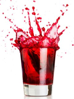 Mix up the iGnite Cranberry Cocktail