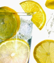 Add Lemon to your Water for a number of healthy benefits