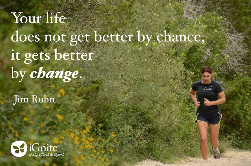 Life Gets Better by Change