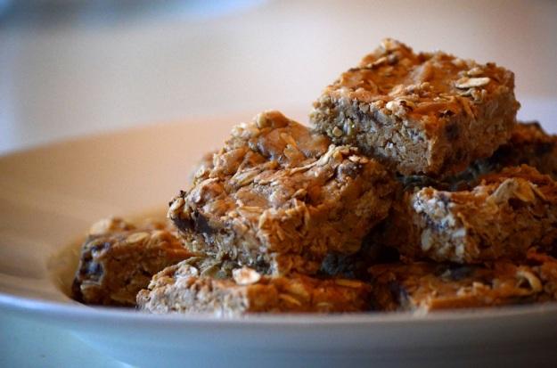 Gluten-Free Peanut Butter Protein Bars