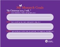 iGnite Goal-Setting Sheet