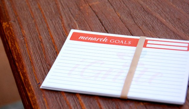 Monarch Goals and Dreams Cards- From simple and tangible to seemingly out of reach, continue to pursue your goals and dreams while having tons of fun!