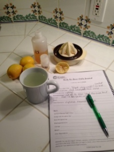 Got day 3 off to good start with hot lemon water instead of coffee.  Ironically, I think my energy was much higher today!