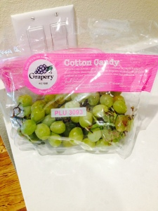 Cotton candy grapes: you can have your cake and eat it too!