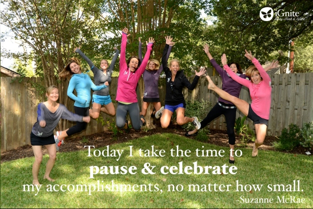 Take the Time to Celebrate Your Accomplishments