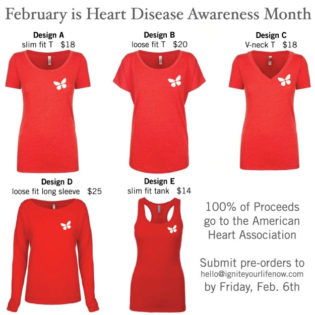 Special Edition Heart Month iGnite T-Shirts
