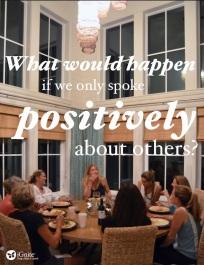 Speak Positively