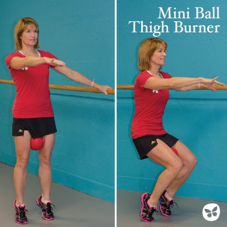 miniball thigh burner