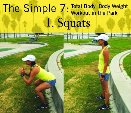 Squats: iGnite Simple 7 Park Workout