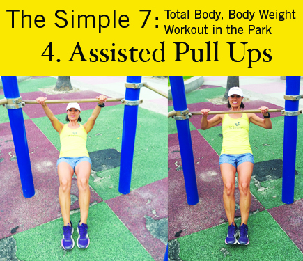 Assisted Pull Ups: iGnite Simple 7 Park Workout