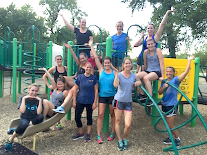 Highlight of the day: Spending the evening under the trees at beautiful Pease Park for Metabolic Circuit Training with Kathleen and an amazing group of iGnite women!