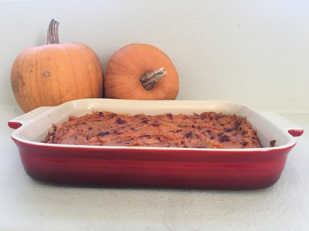 Sweet Potato & Cranberry Bake