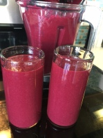 beet and kale smoothie
